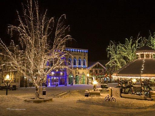 Sfondo paesaggi meravigliosi e incantati del Natale