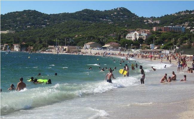 spiaggia Plage de Almanarre Hyères