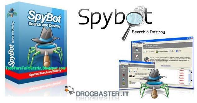 >Spybot Rimuovere malware e spyware