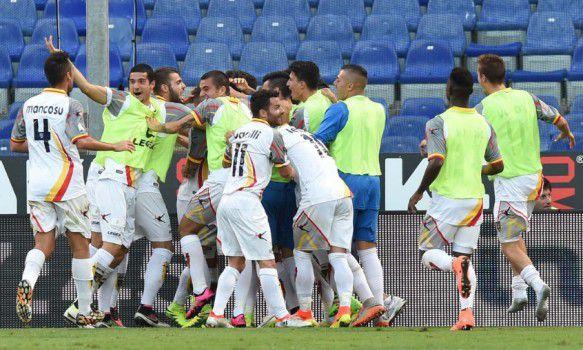 Foto di gruppo squadra Lecce