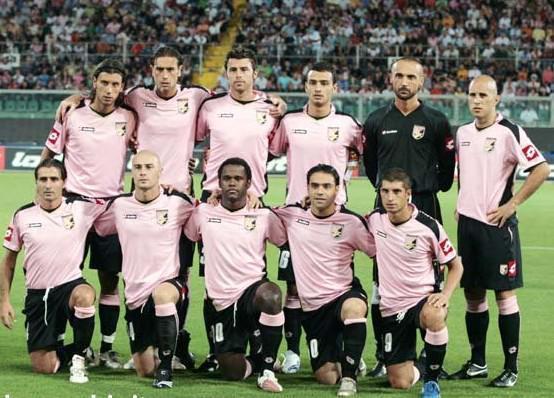 Foto di gruppo squadra Palermo