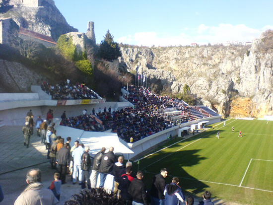Stadion Gospin dolac - Croazia