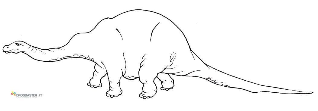 Disegni da colorare e stampare del mondo dei Dinosauri