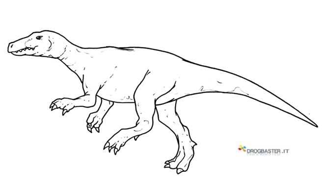 Disegni dei dinosauri da stampare gratis - Stampa pagine da colorare dinosauro ...