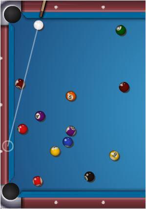 screenshots gioco biliardo bilie stecca