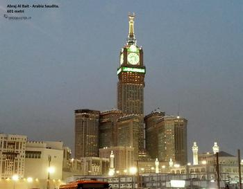 L'Al-Bait Abraj Towers, noto anche come Mecca Royal Hotel Clock Tower