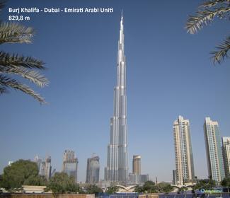 Grattacielo più grande del mondo Burj KhalifaDubai
