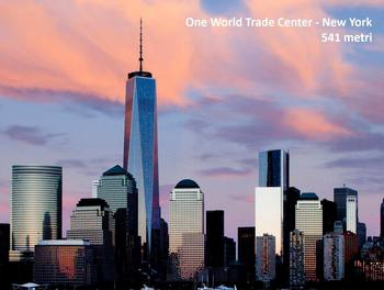 grattacielo centrale del New World Trade Center di New York