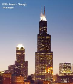 Willis Tower al tramonto
