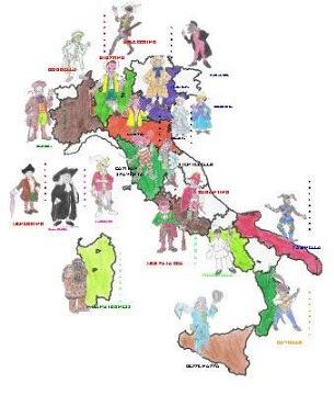 I personaggi del Carnevale Italiano