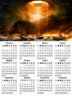 calendario 2016 Giudizio Universale