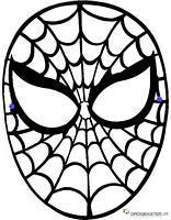 Maschera - Spiderman