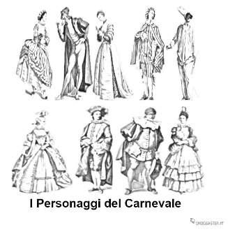 Personaggi più famosi del Carnevale in Italia