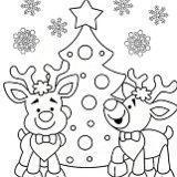 Disegni natalizi per bambini da colorare