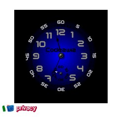 Orologio analogico personalizzabile