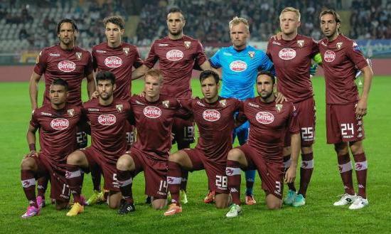 Foto di gruppo squadra Torino