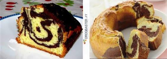 ricetta torta bicolore