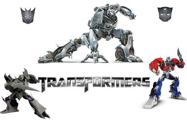 Crea E Colora Transformers Gratis Disegni Online