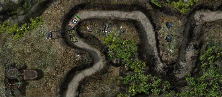 screenshots gioco turret defence