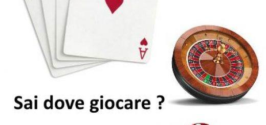 gioco d'azzardo: carte, roulette dadi