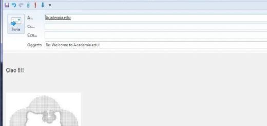 inserire ascii art in windows live mail