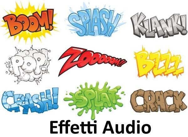 effetti sonori suoni per le colonne sonore