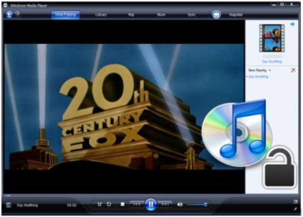 lettore multimediale windows media player
