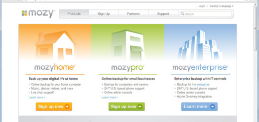 mozy software di backup del computer