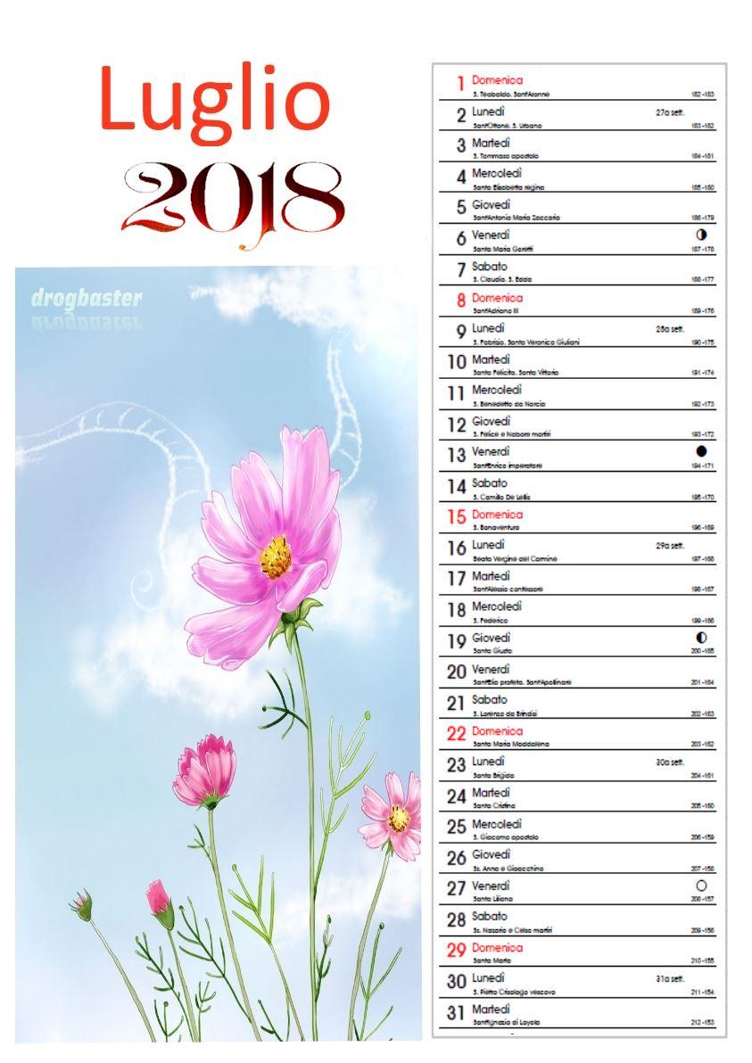 Calendario Persiano Conversione.2018 Calendario Mensile Fotografico Con Disegni