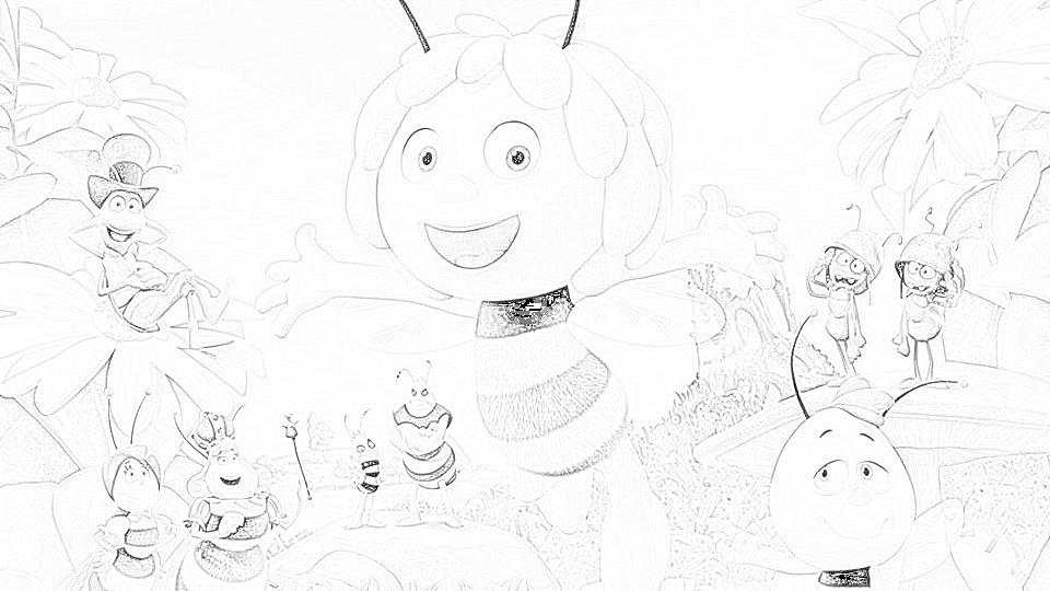 Disegni Cartoni Animati Gratis Da Colorare
