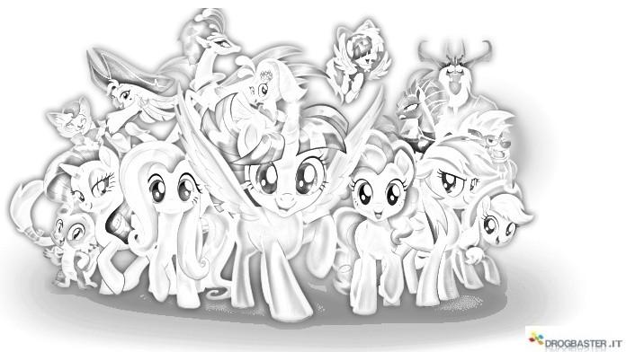 Disegni My Little Pony Da Colorare
