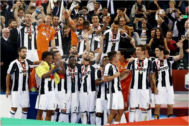 squadra juventus vince coppa italia 2015-16