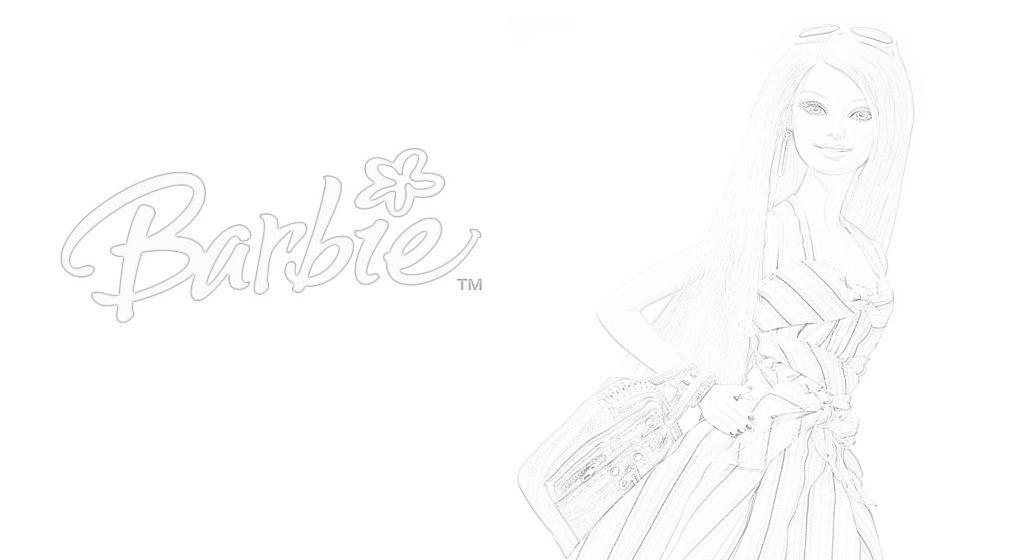 Barbie disegni da colorare e da stampare