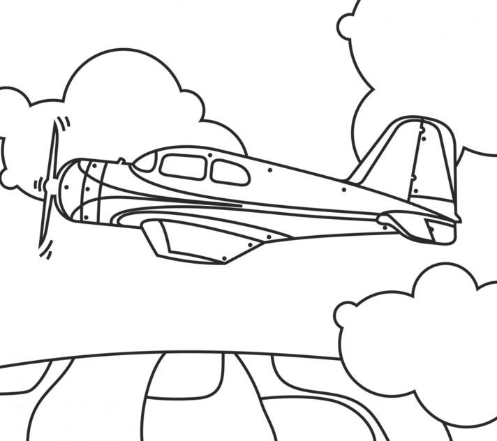 aereo disegno