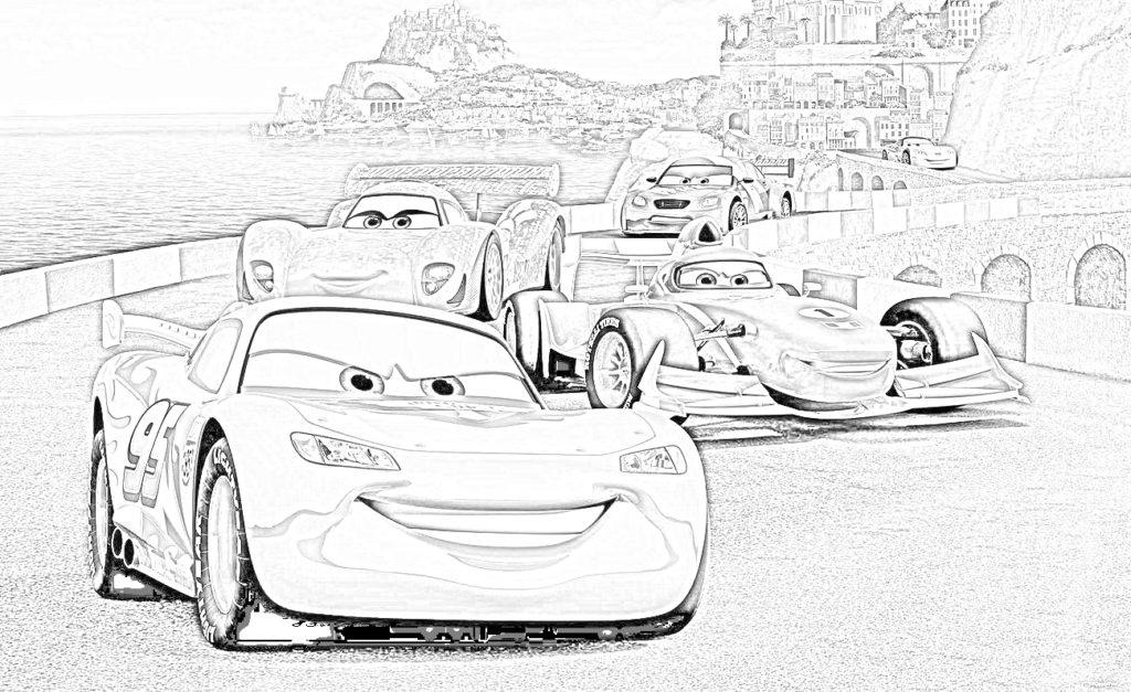 disney cars saetta mcqueen