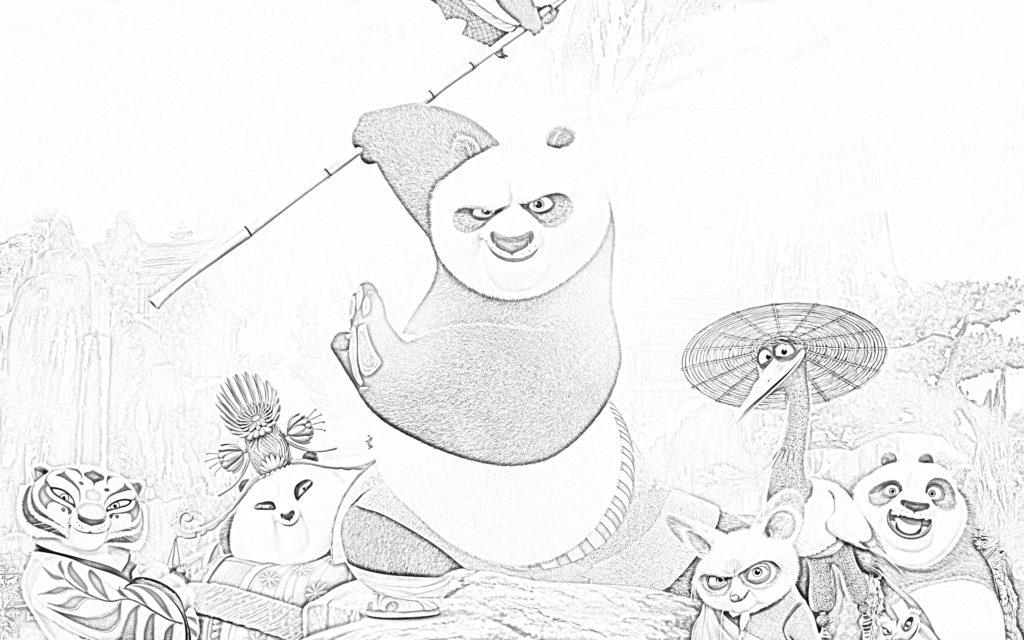 Kung Fu Panda è un film d'azione prodotto dalla DreamWorks Animation