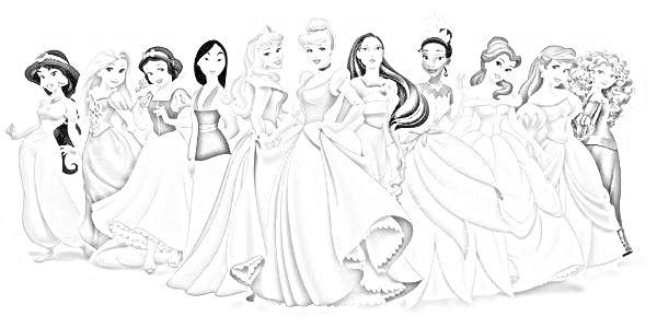 Walt Disney Disegni Per Bambini Da Colorare