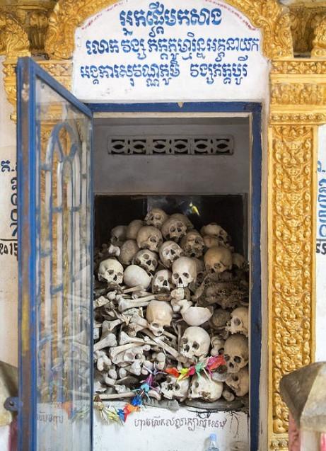 Killing caves of Phnom Sampeau - Cambogia