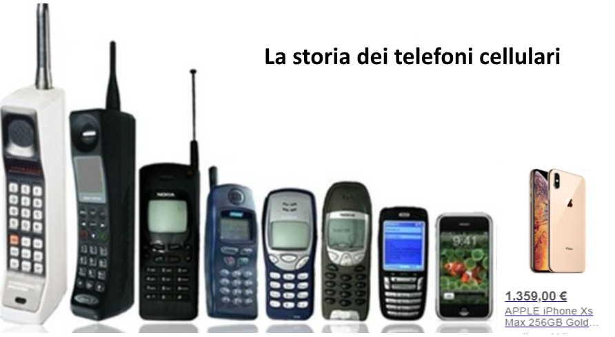 La storia dei telefoni cellulari