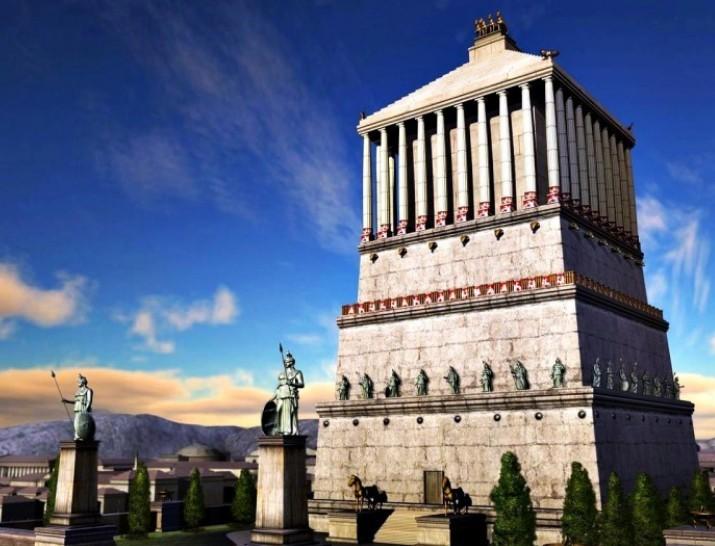 Mausoleo di Alicarnasso: una Tomba Monumentale per Mausolo - 3 Pietre