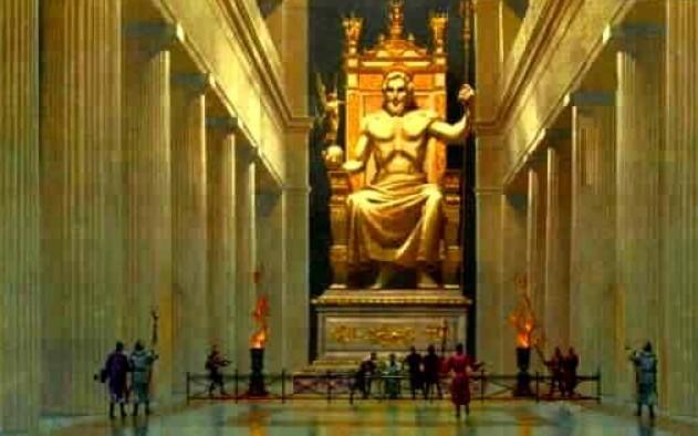 Tempio di Zeus interno