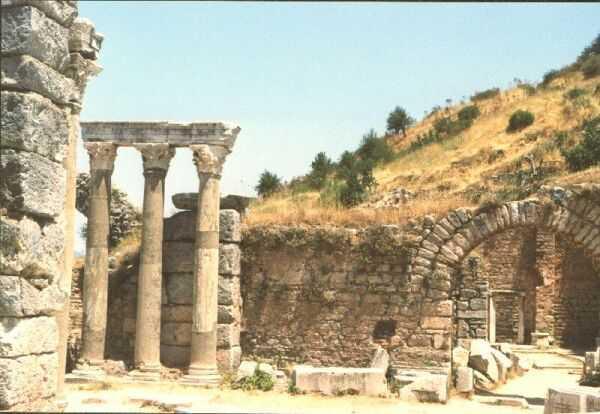 foto rovine del tempio