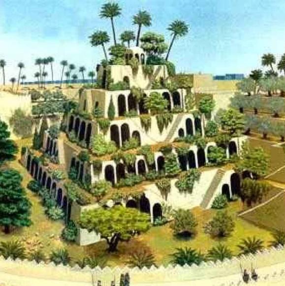 Dove si trovano i giardini pensili di Babilonia?