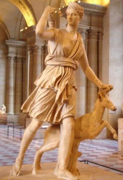 statua artemide