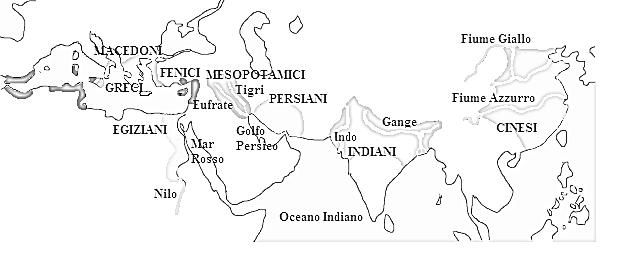 culla delle civiltà antiche nel mondo