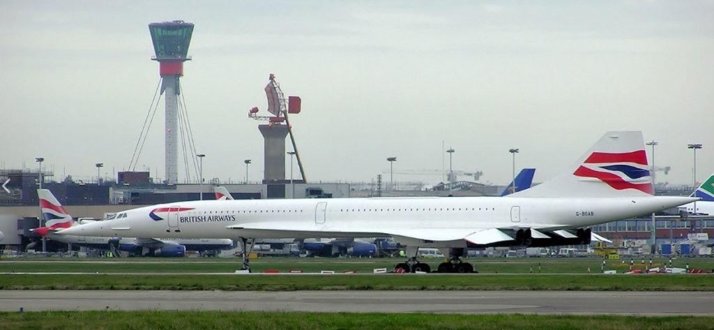 aereo supersonico franco-britannico Concorde