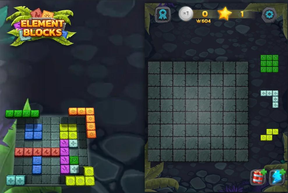 Gioco di puzzle tipo tetris 3D