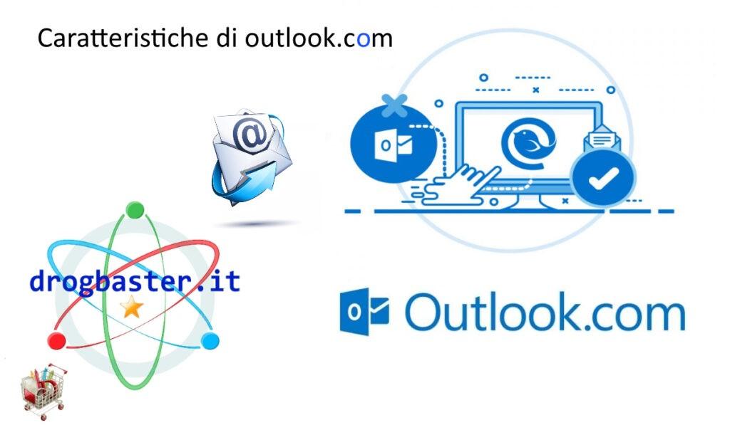 caratteristiche di outlook webmail