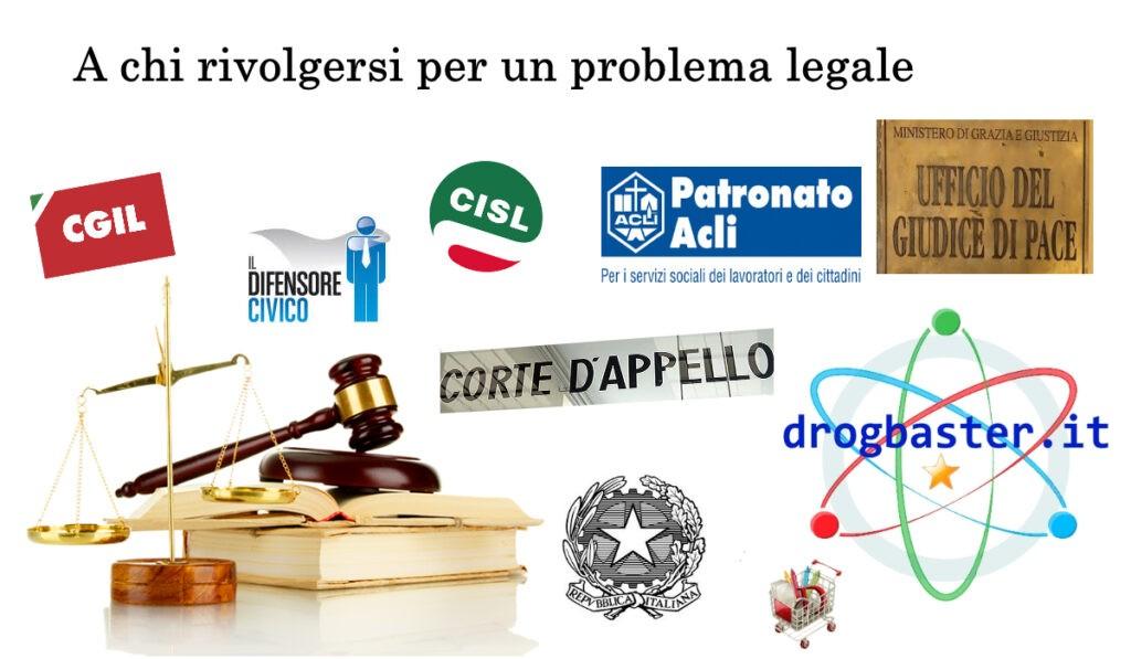A chi rivolgersi per un problema legale