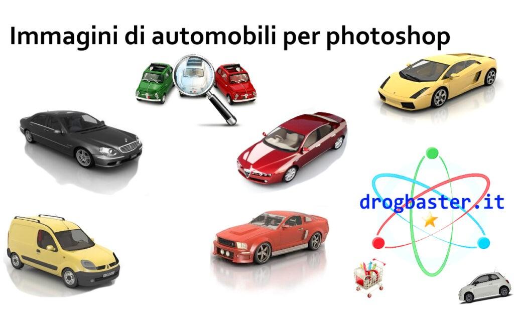 Immagini di automobili per photoshop